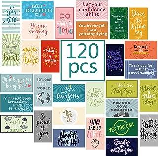 120 Pieces Motivational Encouragement Quote Cards Inspirational KindnessAppreciation GratitudeBusiness Cards Encourageme...