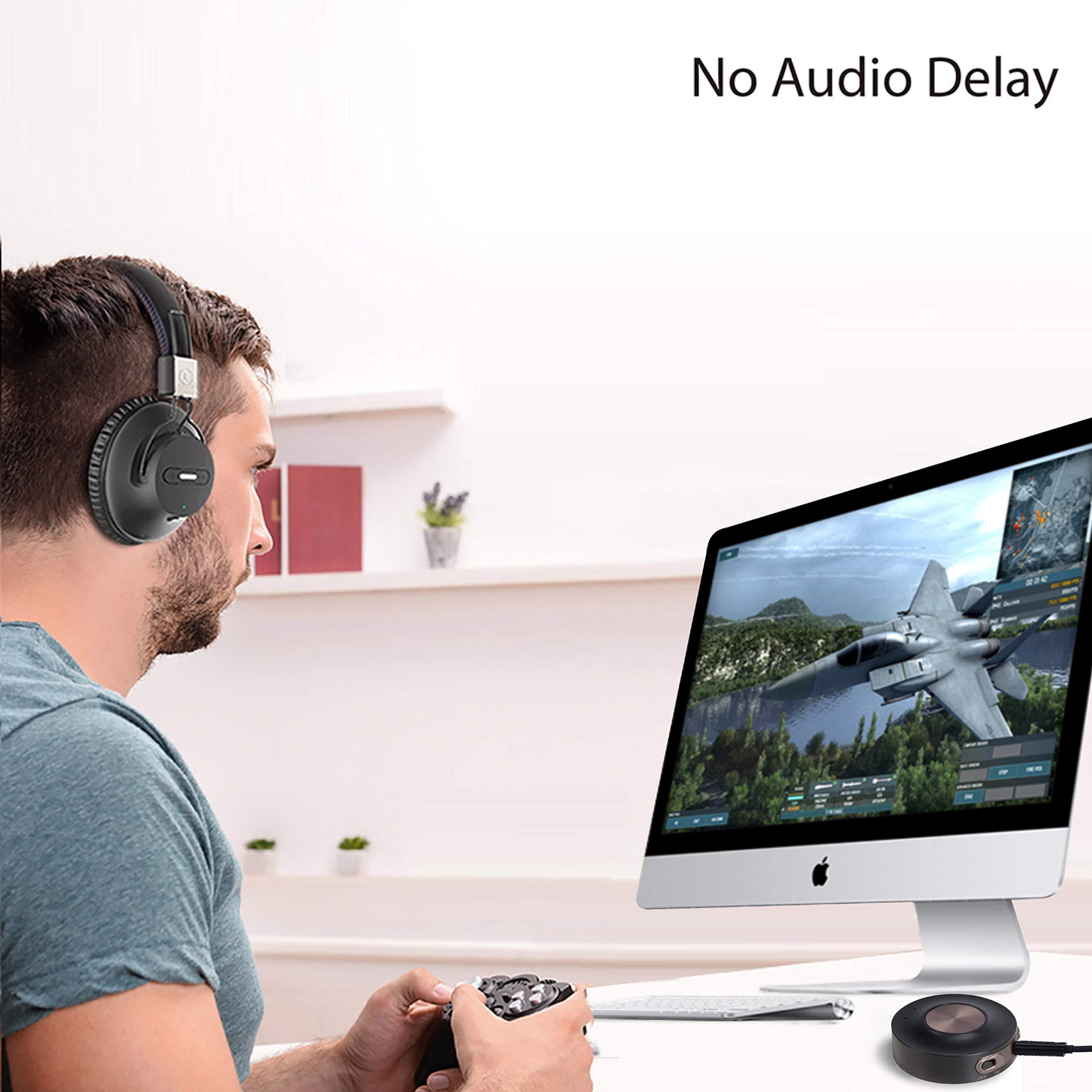 Avantree Priva III aptX Low Latency Transmisor Bluetooth 4.2 para ...