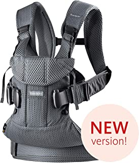 BabyBjörn Baby Carrier One Air, 3D Mesh, Anthracite, One Size