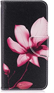 PU Leather Flip Cover Compatible with Samsung Galaxy Note 10 plus, flower Wallet Case for Samsung Galaxy Note 10 plus