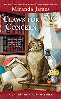 Claws for Concern (Cat in the Stacks Mystery)
