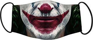 Vista Joker Character Printed Mask for Adults -Cotton Reusable Washable Mask Size 20x13 cms