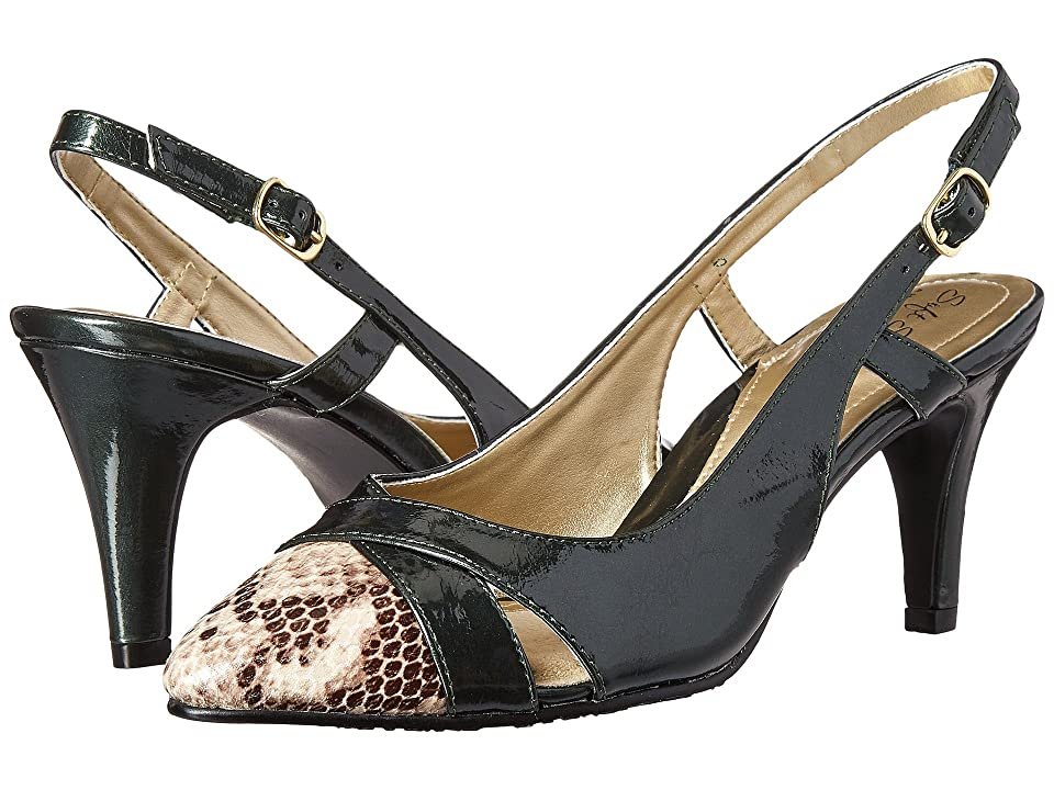 Soft Style Rielle (Rosin Pearlized Patent/Python) High Heels