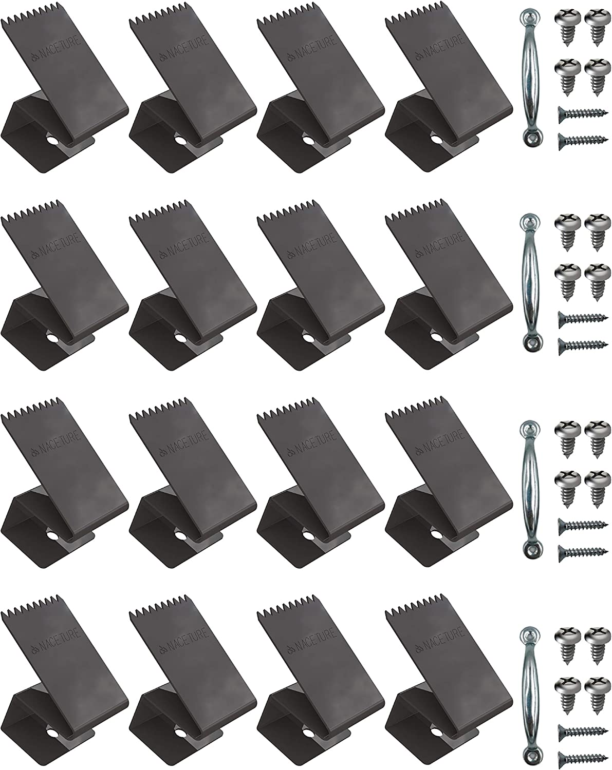 NACETURE Hurricane Long-awaited Window Clips Stainless Re Same day shipping Steel Universal and