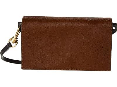 AllSaints Gold Smith Crossbody (Biscuit Brown) Handbags