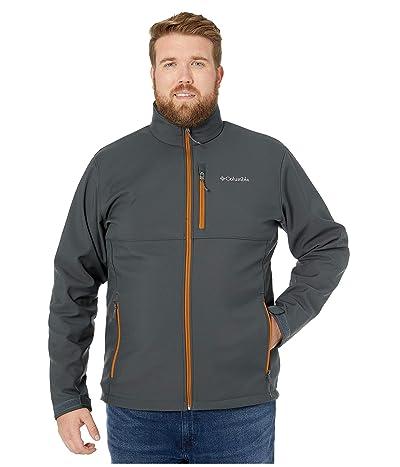 Columbia Big Tall Ascendertm Softshell Jacket (Shark/Burnished Amber) Men