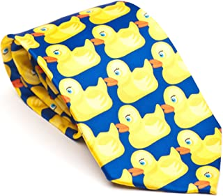 Cool TV Props Mens Barney Stinson'S Ducky Tie as Seen on How I Met your Mother