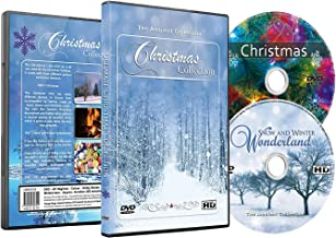 Christmas DVD - Christmas Collection Videos of Falling Snow, Christmas Lights & Fireplaces