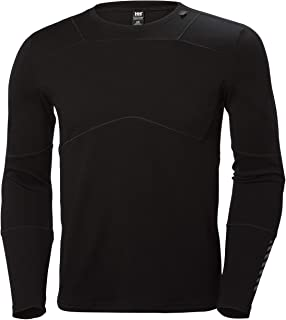 HH LIFA Merino Crew - Camiseta Técnica Lana Merino Hombre