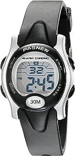 Pasnew Cute Digital Sport Waterproof Wrist Watch with Alarm Stopwatch for Kids Boys Girls