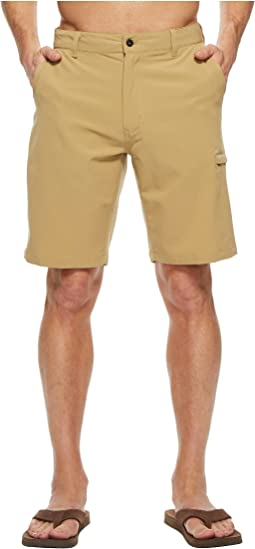 "Rolling Sun Hybrid Shorts - 10"""