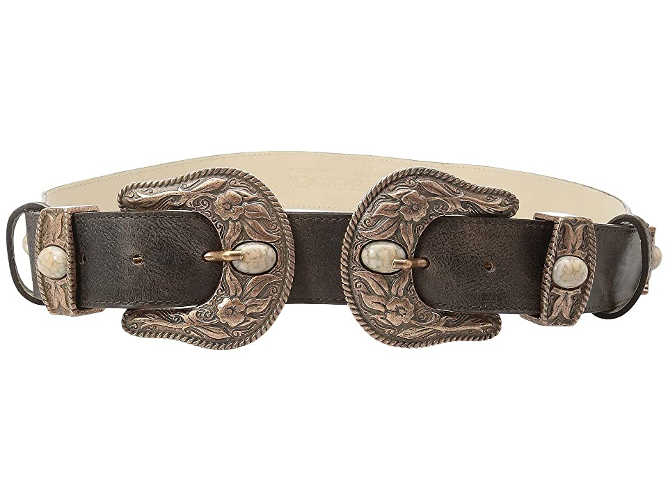 Leatherock Big Sky Belt (Chocolate) Women