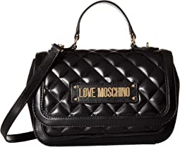 Shiny Quilted Handbag