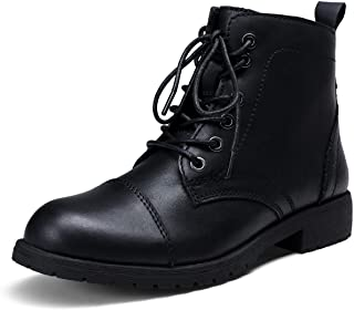 Women's Fashion Ankle Booties Combat Boots for Women