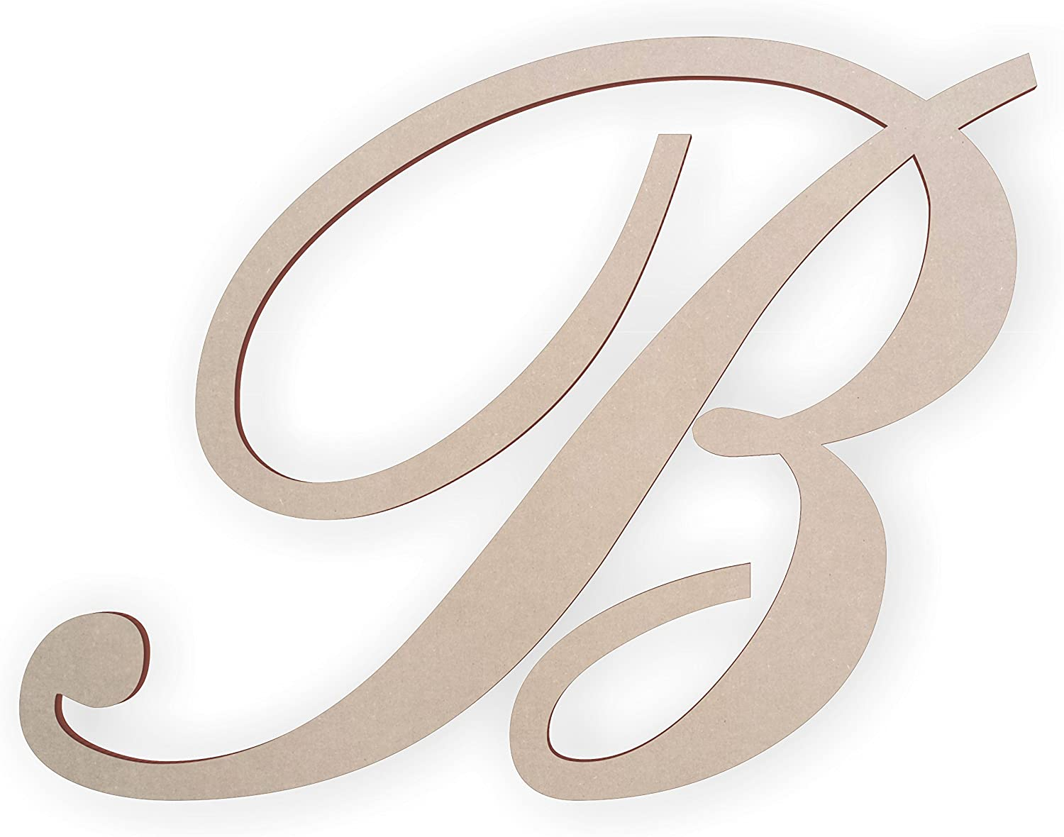 Jess and Gorgeous Jessica Wooden Max 50% OFF Letter B Wall Letters Cr for