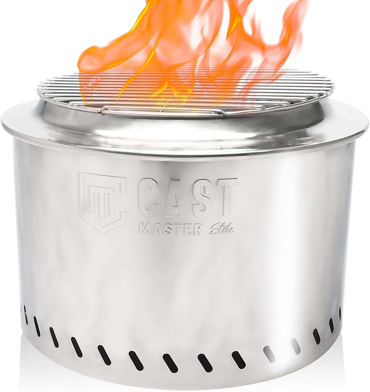 Max 61% OFF Cast Master Bon 2000 Dual Purpose Fire Bonfire Popular popular Smokeless Pit - P