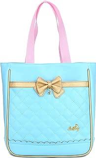 Waterproof Cute Backpacks for Preschool Toddler Girls Sweet Kids Large School Bookbag Travel Daypack (Handbag:12.5x 3.9 x 11.4 in, Blue Handbag)