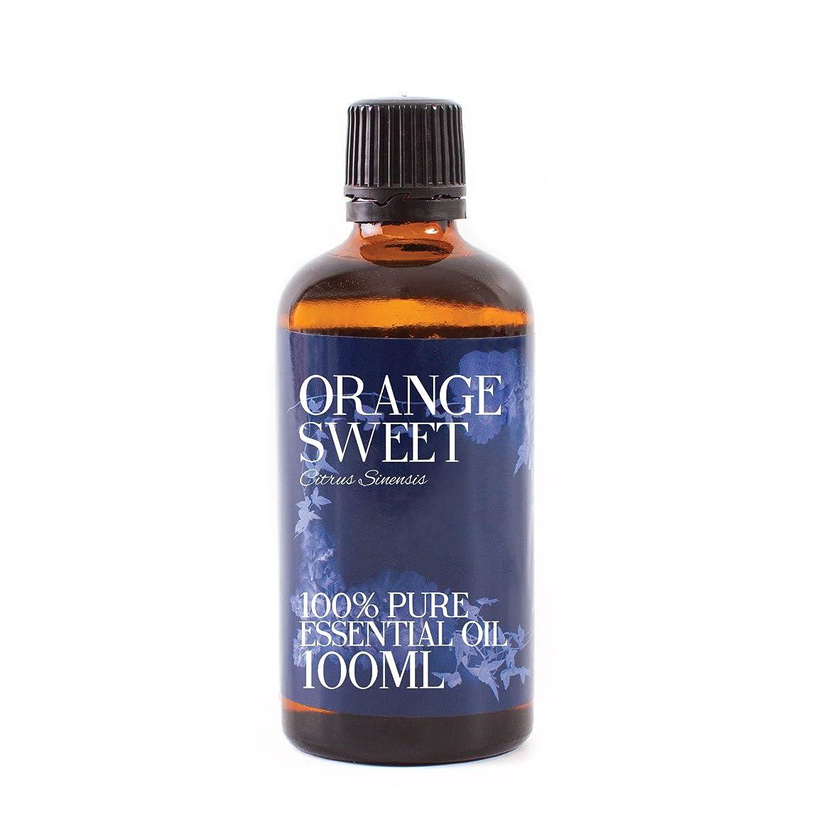 近似ロイヤリティ突進Mystic Moments | Orange Sweet Essential Oil - 100ml - 100% Pure