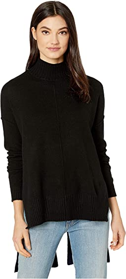 Mock Long Sleeve Pullover Sweater