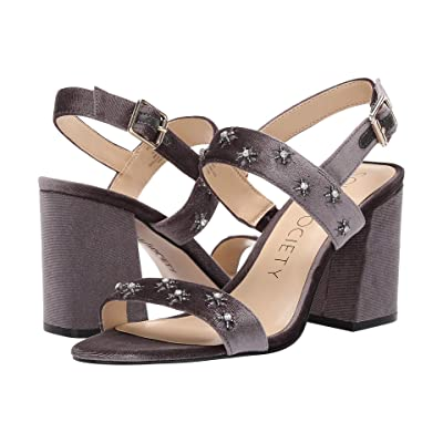 SOLE / SOCIETY Jessibel (Silver Ash Portugal Velvet) High Heels