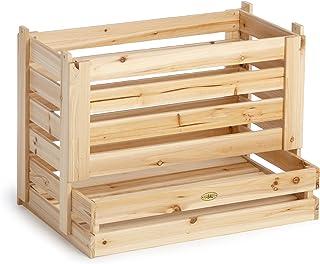 estanterias cocina madera