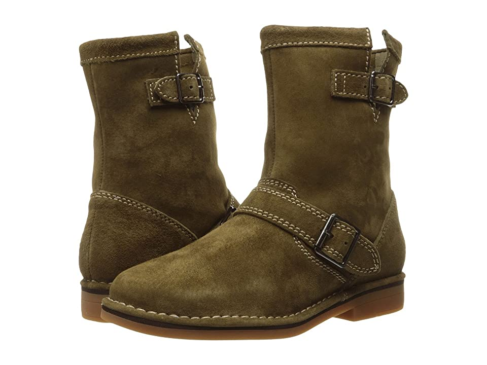 Hush Puppies Aydin Catelyn (Dark Olive Suede) Women