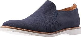 CROFT Men's Radcliffe Flat Loafers, Navy