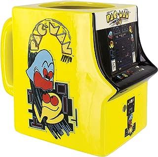 Pac Man Arcade Video Game Shaped Ceramic Coffee Mug