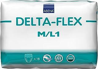 Abena Delta-Flex Protective Underwear, M/L1, 18 Count