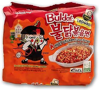 Samyang Ramen Best Korean Noodles (Toppoki Stir Fried Noodle, 5 Pack)