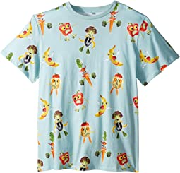 Veggie People Short Sleeve Tee (Toddler/Little Kids/Big Kids)