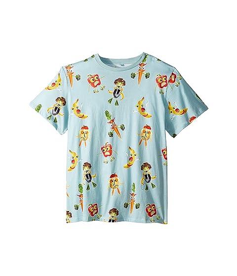 Stella McCartney Kids Veggie People Short Sleeve Tee (Toddler/Little Kids/Big Kids)