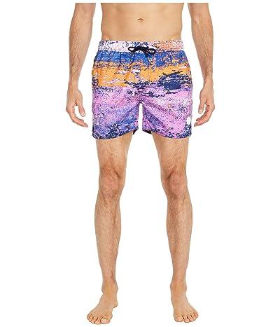 NATIVE YOUTH Skala Swim Shorts (Pink) Men