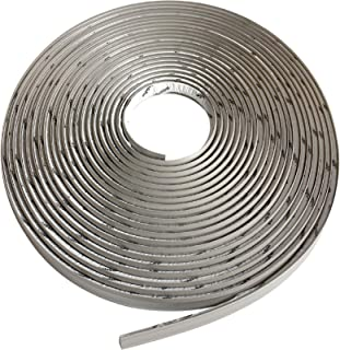 "Instatrim 3/4 Inch (Covers 3/8"" Gap) Flexible, Self-Adhesive, Caulk and Trim Strips.."