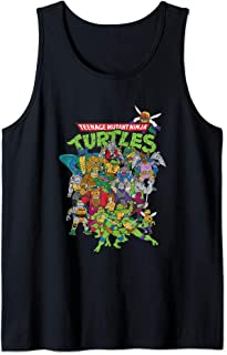 TMNT Group Shot With Logo  Tank Top