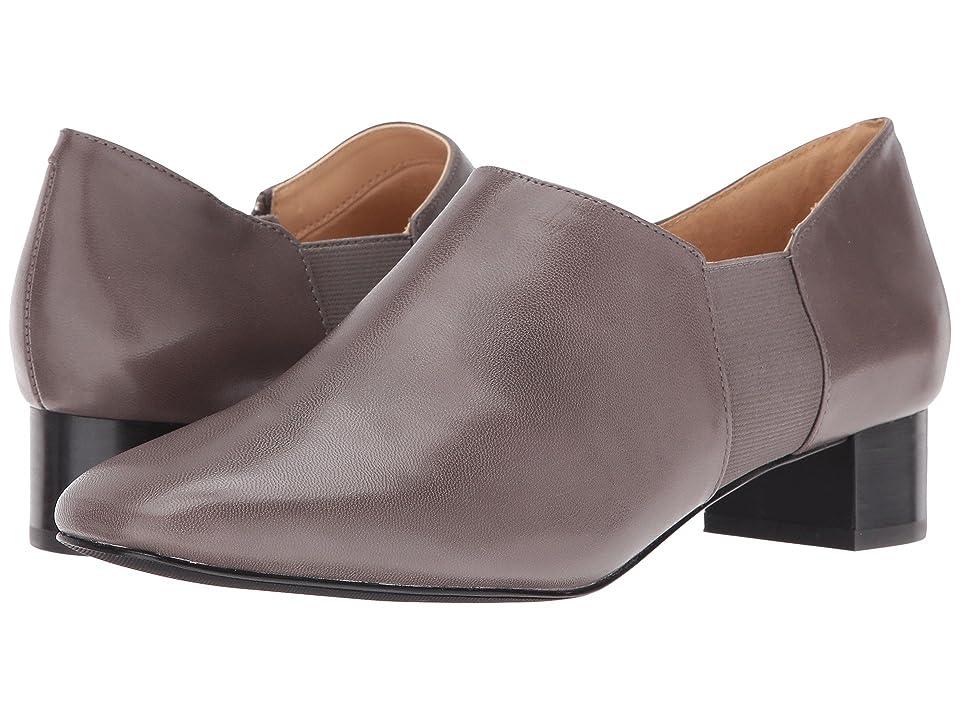 Trotters Lillian (Dark Grey Veg Goat Leather) Women