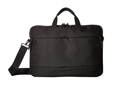 Incase 15 City Brief w/ Diamond Ripstop (Black) Briefcase Bags