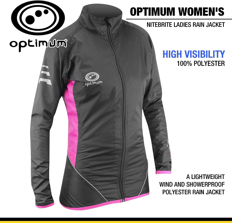Optimum Nitebrite Ladies Rain Jacket (12)