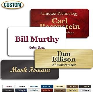 Best custom magnetic name badge Reviews