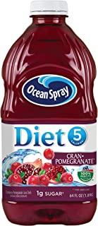 Ocean Spray Diet Cranberry Pomegranate, 64 Fl Oz (Pack of 8)