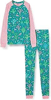 Hatley Organic Cotton Raglan Long Sleeve Printed Pyjama Set Ensemble de Pijama Fille