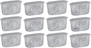 NRP Coffee Water Cartridges Activated Charcoal Filter Compatible for CUISINART Coffeemaker DCC-RWF, Kenmore Drip, Delonghi, Capresso 12-pack