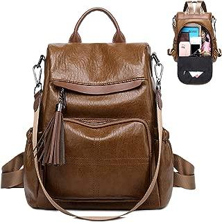 Women Backpack Purses Fashion PU Leather Antitheft Casual Daypack School Shoulder Bag Travel Rucksack