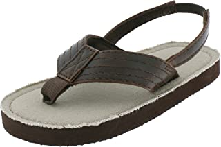 7977b1c0f Capelli New York Lamy Thong with Color Lining Toddler Boys Flip Flops