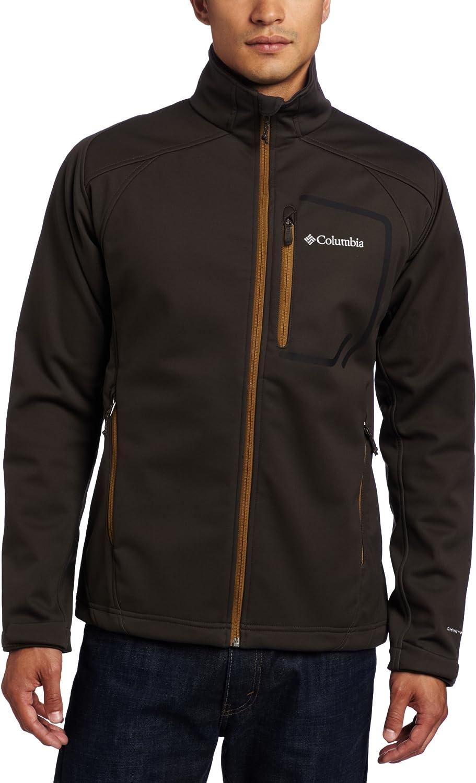 Columbia Men's OFFicial site Inexpensive Key Three II Softshell X-Large Buffalo Jacket