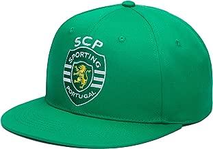 للعلامة التجارية Sporting clube de البرتغال قابلة للتعديل بشريط خلفي منحن ٍ ألوان الفريق Bill القبعة كرة القدم