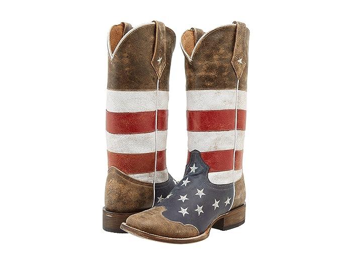 Roper American Flag Square Toe Boot