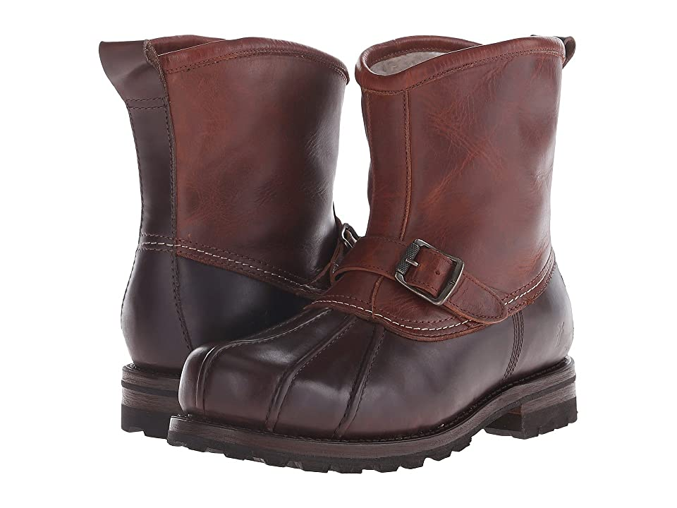 Frye Warren Duck Engineer (Espresso Multi WP Smooth Pull Up/Shearling Lined) Men