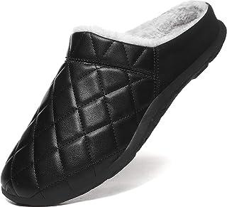 Lvptsh Pantofole Uomo Donna Casa Ciabatte Invernali Caldo Comode Suola Spessa Casa Slippers Esterno Antiscivolo