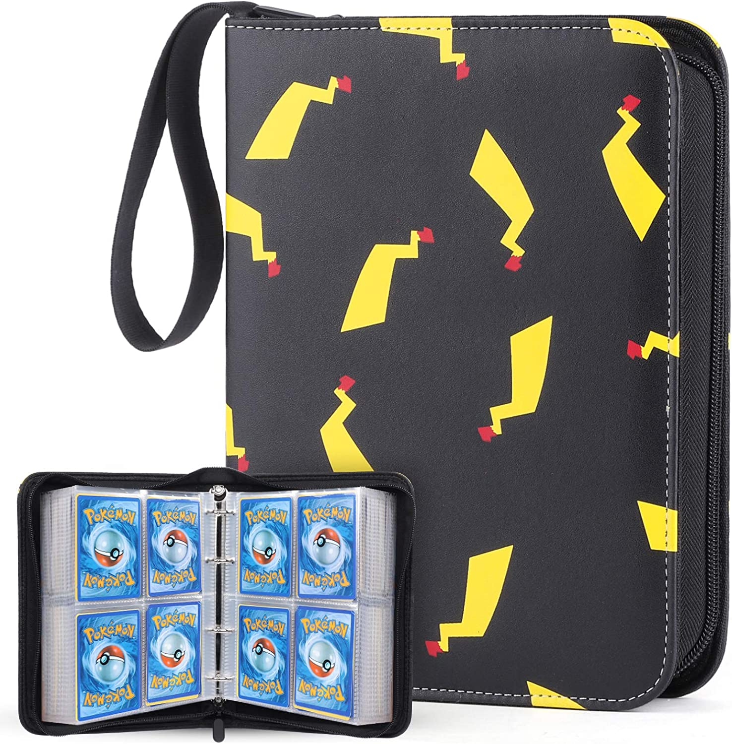 WEWOW Carrying Case Binder for Pokemon Cards, Card Collector Album Holder...
